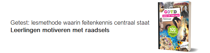 Grej of the day: motiveren met raadsels